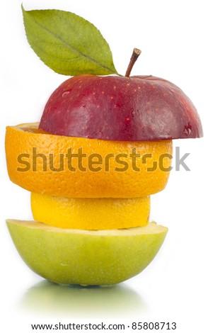Autumn. Fruit. A crop. - stock photo