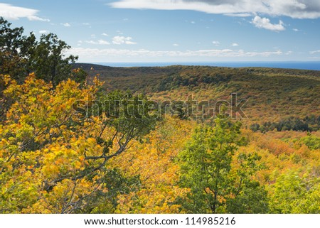 Autumn Hills & Lake Superior Scenic