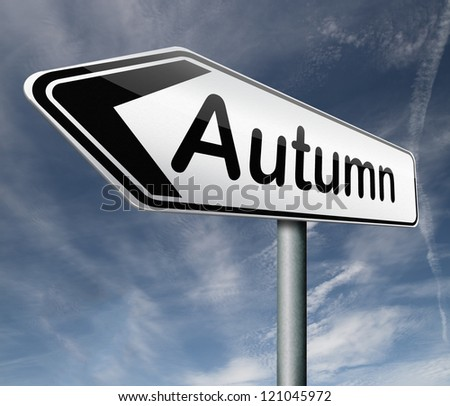 autumn season vacation holiday