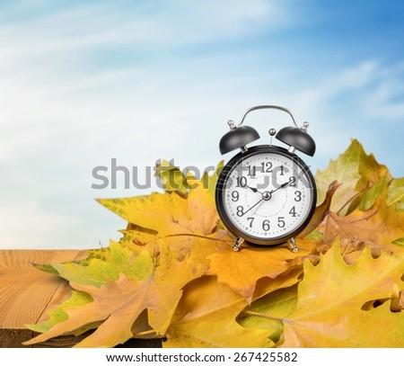 Autumn. Time Change - stock photo
