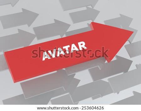 AVATAR - stock photo