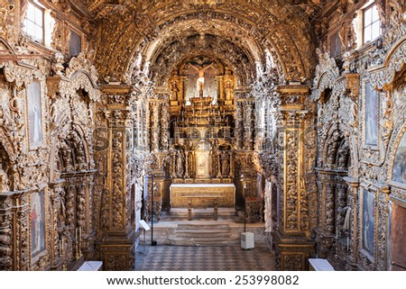 "AVEIRO, PORTUGAL - JULY 02: City Museum ""Santa Joana"", before known as the Convent of Jesus in Aveiro, Portugal on July 02, 2014 in Aveiro, Portugal"
