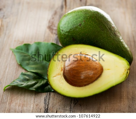 Avocado - stock photo