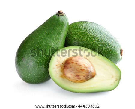 Avocado. - stock photo
