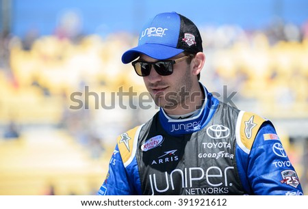 AVONDALE, AZ - MAR 11: Daniel Suarez at the NASCAR Xfinity Series Axalta 200 at Phoenix International Raceway in Avondale, AZ on March 11, 2016