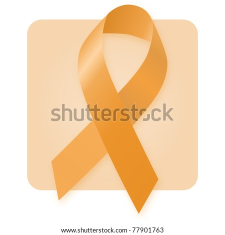 Awareness Ribbon - Attention Deficit Hyperactivity Disorder