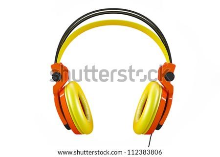 Awesome Headphones - stock photo