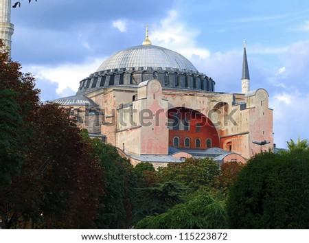 Aya Sofia , Istanbul - stock photo