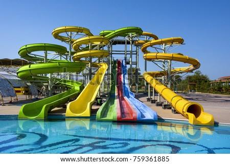 Azerbaijan Near Nabran Big Colorful Water Stock Photo 759361885 Shutterstock