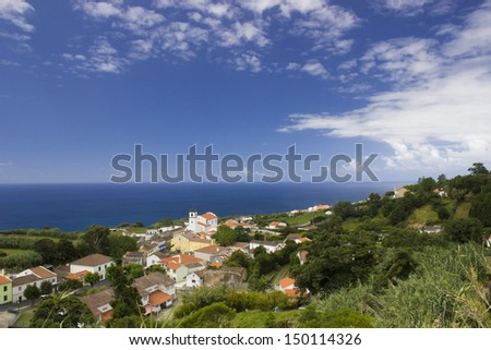 Azores - stock photo