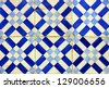 Azulejos, portuguese tiles - stock photo