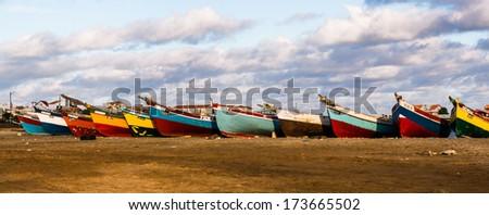 Baía das Gatas - São Vicente - stock photo