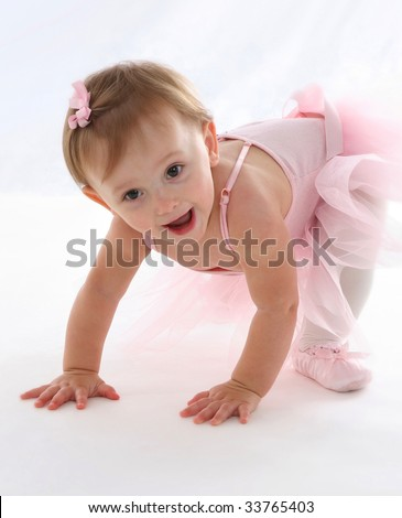 Baby Ballerina - stock photo