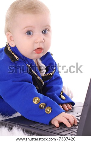 baby business - stock photo