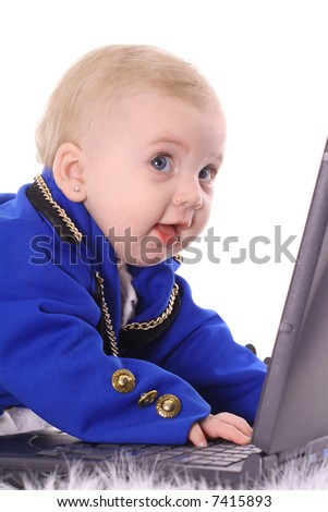 baby business is booming - stock photo