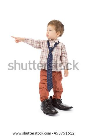 baby businessman - stock photo