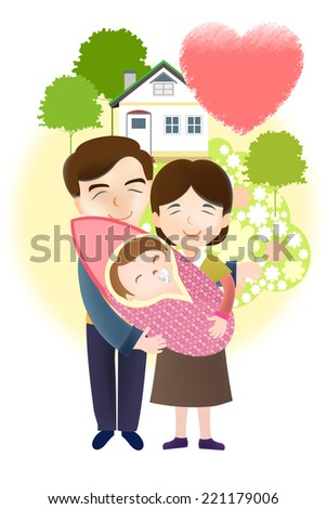 baby care  - stock photo