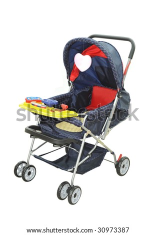 Baby carriage, - stock photo
