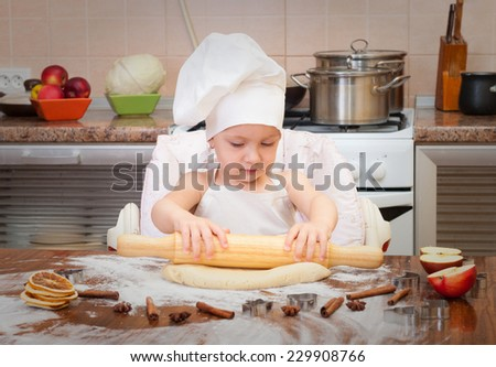 baby cooking homemade christmas cookies