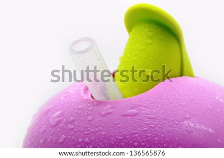 Baby cup - stock photo