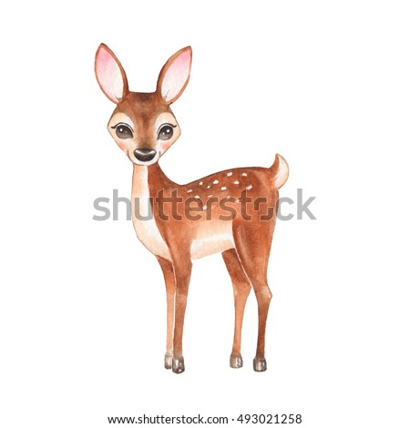 Baby Deer Easy To Draw Cartoon Www Picturesso Com