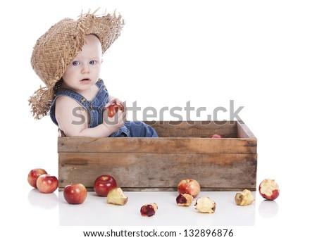 Baby Farmer. - stock photo