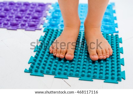baby foot massage Mat