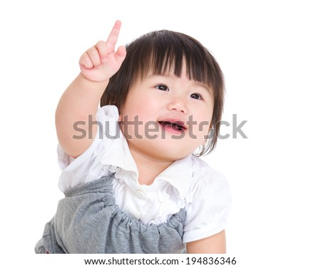 """baby Pointing"" Stock Images, Royalty-Free Images ... Cute Baby Pointing Finger"