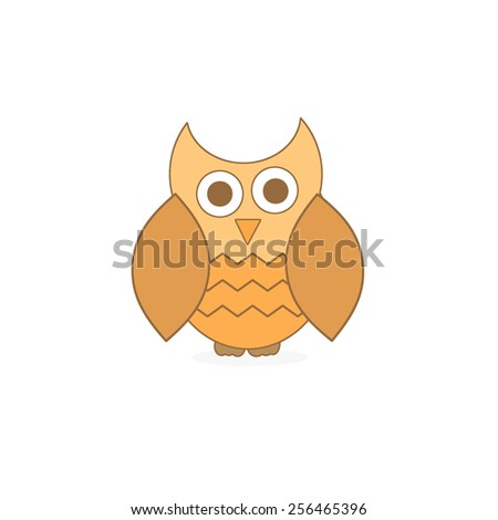 Baby Owl - stock photo