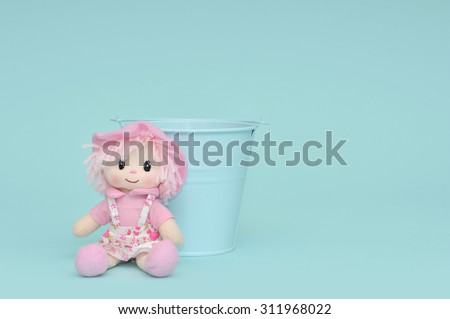 Baby/Pet backdrop - stock photo