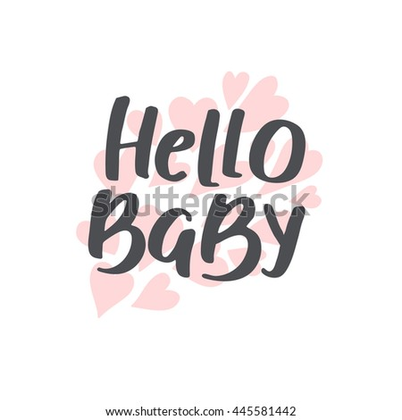 baby shower girl boy vector text stock vector   shutterstock, Baby shower invitation