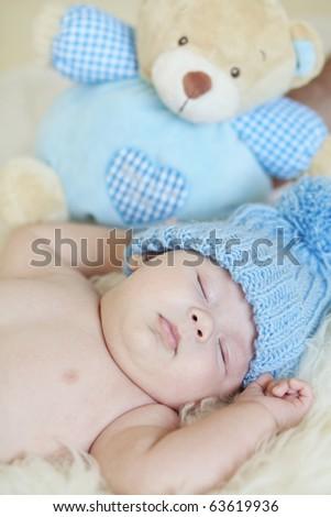 baby sleep - stock photo