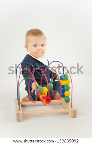 Baby With Bead Toy