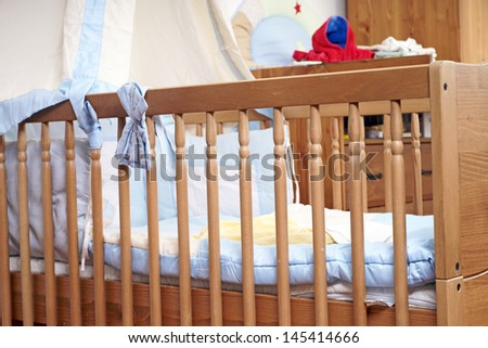 Babycot / baby room - stock photo