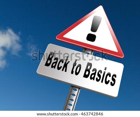 back to basics stock images royalty free images vectors shutterstock. Black Bedroom Furniture Sets. Home Design Ideas