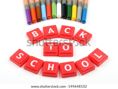 Back to school concept - stock photo