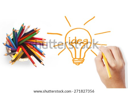 back to school painting activities class - stock photo