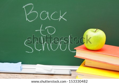 Back to school... The Apple on books against school board.