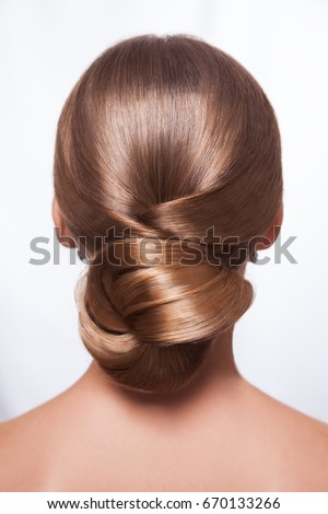 haircuts for a oval bun stock images royalty free images amp vectors 4669