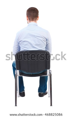 Man Sitting On Chair Stock Images, Royalty-Free Images ...