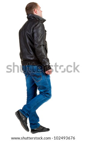 Young Cool Man Full Body Scared Stock Photo 567951100 ...
