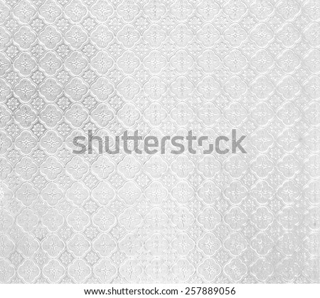 backdrop of pattern on Background corrugated gray transparent glass tinted photo image - stock photo