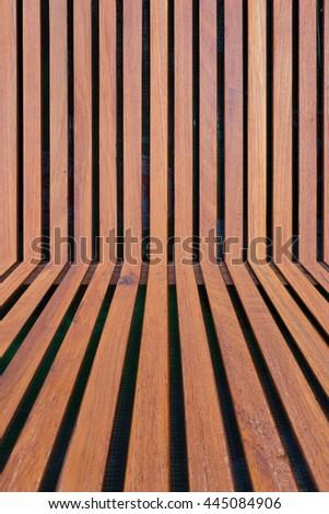 Backdrop timber battens.background timber battens. - stock photo