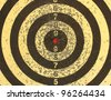 Background. A target for darts close up. - stock photo