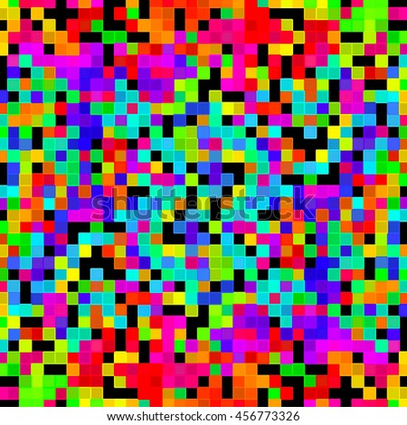 Background abstract pattern rainbow color. - stock photo