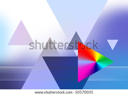 background-abstract-prism - stock photo