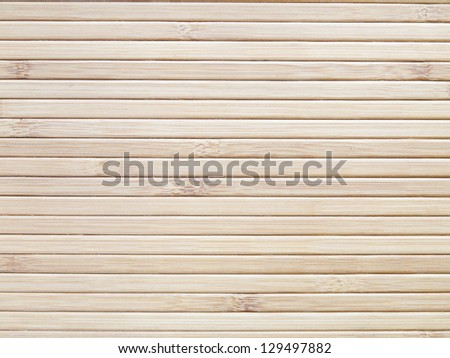 background and texture of bamboo sheets - stock photo