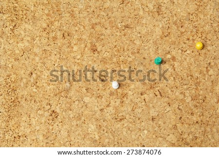 Background and texture with cork board