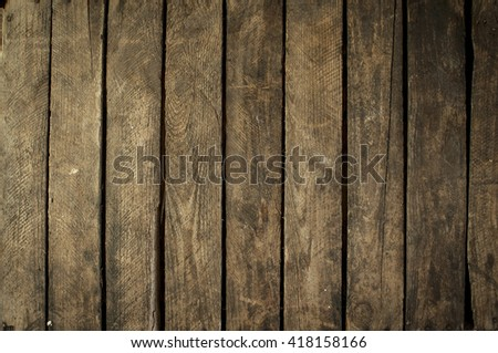Background and textures concept - rustic wooden table background. Vintage. - stock photo