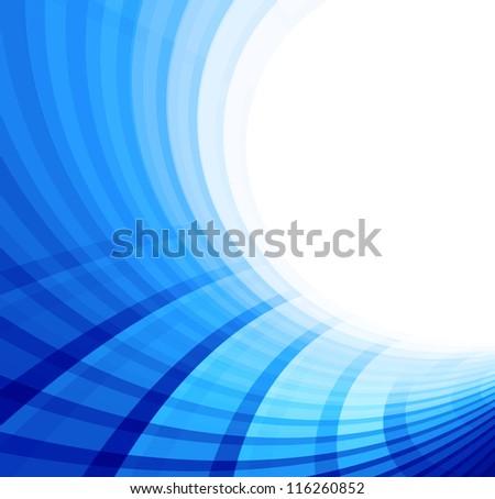 background blue - stock photo
